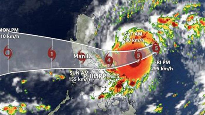 Chuyên gia khí tượng đánh giá cường độ bão Goni khi tác động đến Việt Nam - 1