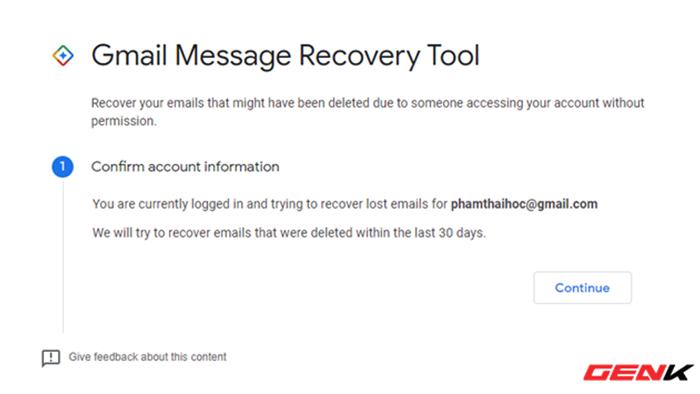 Có thể khôi phục lại email đã xóa trong Gmail hay không? Câu trả lời đơn giản đến bất ngờ - Ảnh 4.