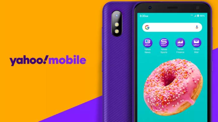 Yahoo! bất ngờ ra mắt smartphone giá rẻ với màu tím quen thuộc - 1