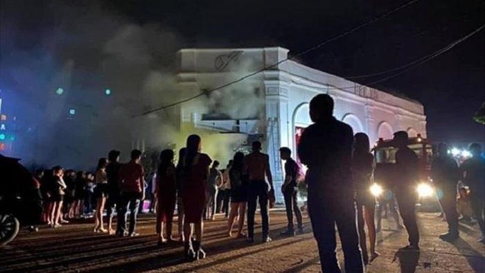 Quán bar X5 ở Vĩnh Phúc cháy làm 3 người chết: Buổi sinh nhật định mệnh - 1