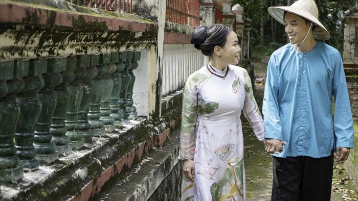 Việt Hương tình tứ với chồng trên phim trường Dương thế bao la sầu - Ảnh 9.
