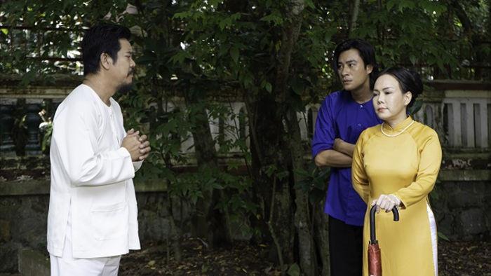 Việt Hương tình tứ với chồng trên phim trường Dương thế bao la sầu - Ảnh 5.