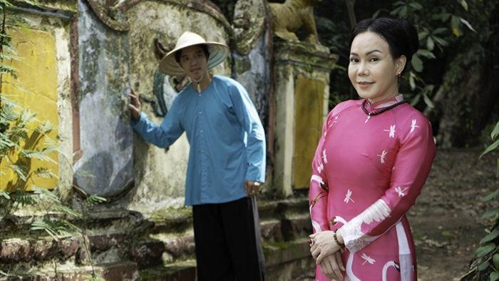 Việt Hương tình tứ với chồng trên phim trường Dương thế bao la sầu - Ảnh 6.