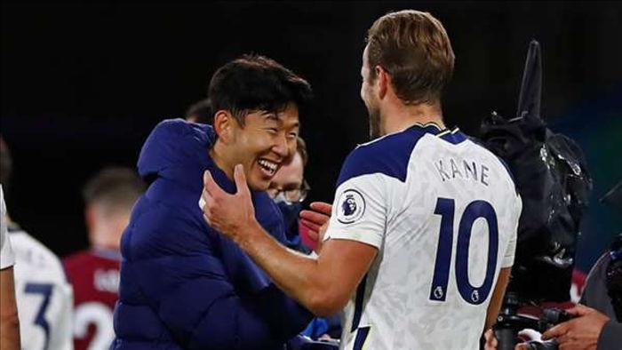 Son Heung-min và Harry Kane đang hợp thành song sát lợi hại bậc nhất Premier League (Ảnh: Getty).