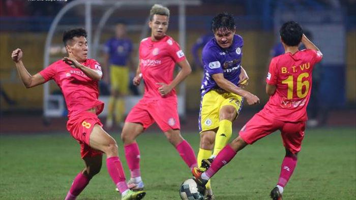 V-League nghẹt thở vòng cuối: Hà Nội FC cậy nhờ Sài Gòn FC cản bước Viettel - 1