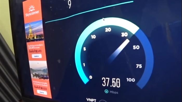 Phản ứng bất ngờ của Youtuber nổi tiếng thế giới khi đo tốc độ Internet tại VN: Nhanh hơn cả Đức, Ý! - Ảnh 1.
