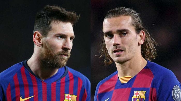 Messi bị tố 'đàn áp' Griezmann, là ung nhọt của Barca