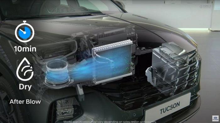 Công nghệ được Hyundai giới thiệu sẽ ngăn ngừa nấm mốc trong cabin
