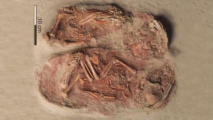 Lần đầu tiên tìm thấy hài cốt của một cặp song sinh thời tiền sử - 1