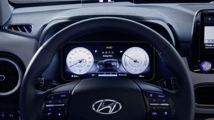 Ra mắt Hyundai Kona 2021 bản chạy điện - 5