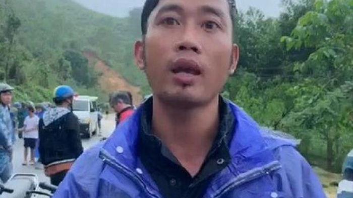 Sạt lở núi khiến 1 người mất tích: Nhân chứng thoát nạn kể thời khắc kinh hoàng - 2