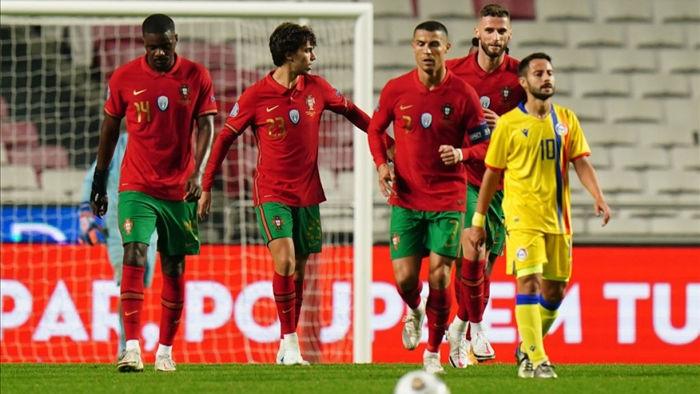 Ronaldo ghi 1 bàn thắng, 1 kiến tạo ở trận đấu này (Ảnh: Getty Images).