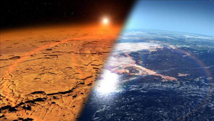 Khám phá bất ngờ trong bầu khí quyển giải thích bí ẩn trên Sao Hỏa - 1