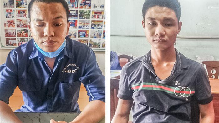Vụ mặc áo GrabBike gí dao cướp xe máy Vespa và iPhone ở Sài Gòn: Bắt giữ hai đối tượng, thu hồi tang vật - Ảnh 1.