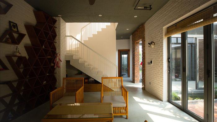 Ngôi nhà có 6 khoảng sân vườn, đẹp như tứ hợp viện ở Đà Nẵng - 5