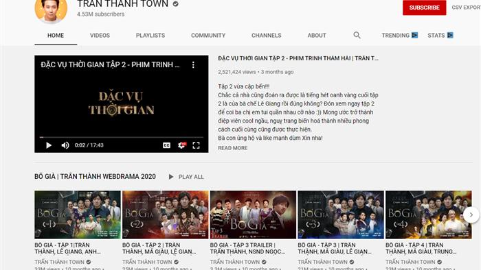 Kênh Youtube 4,5 triệu người đăng ký của MC Trấn Thành bị hack, phát trực tiếp video lừa đảo - Ảnh 1.