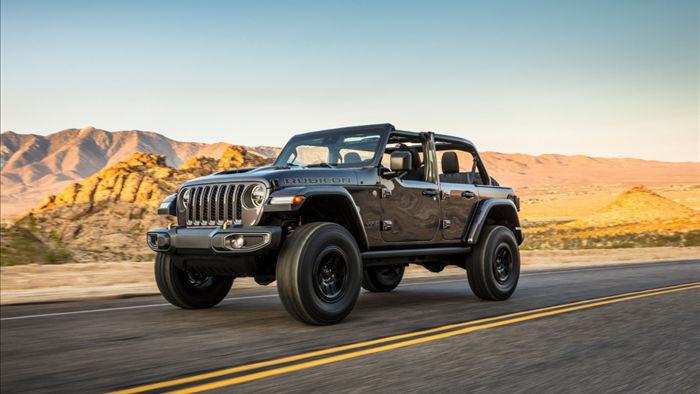 Năm ngoái, Jeep ra mắt bản concept của Wrangler Rubicon với động cơ V8 có công suất 450 mã lực.