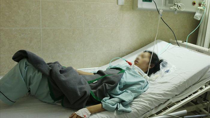 Chị T.T.G. cũng có tình trạng ngộ độc như chị H. và đang dần hồi phục sau một thời gian điều trị