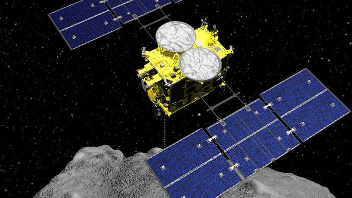 Nhật Bản chuẩn bị có mẫu đất đầu tiên của tiểu hành tinh - 1