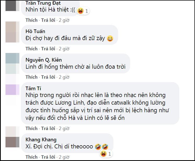 Lương Thùy Linh - Trần Tiểu Vy - Đỗ Thị Hà gây tranh cãi với màn catwalk thảm họa-6