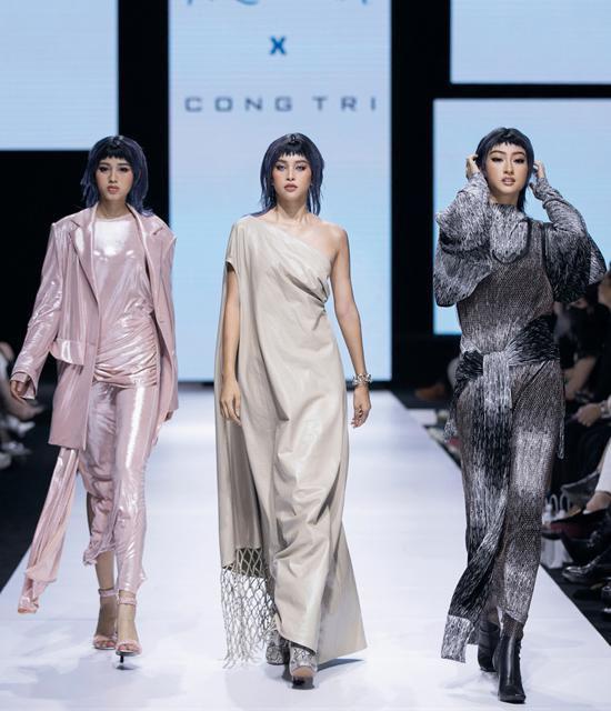 Lương Thùy Linh - Trần Tiểu Vy - Đỗ Thị Hà gây tranh cãi với màn catwalk thảm họa-10