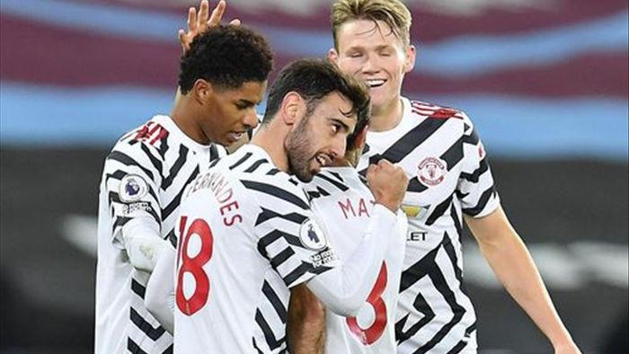 West Ham 1-3 Man Utd: Ba phút may mắn của Quỷ đỏ - 1
