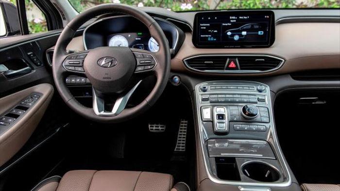 Hyundai Santa Fe 2021 lộ giá 'chát' vượt mặt BMW X3 - 5