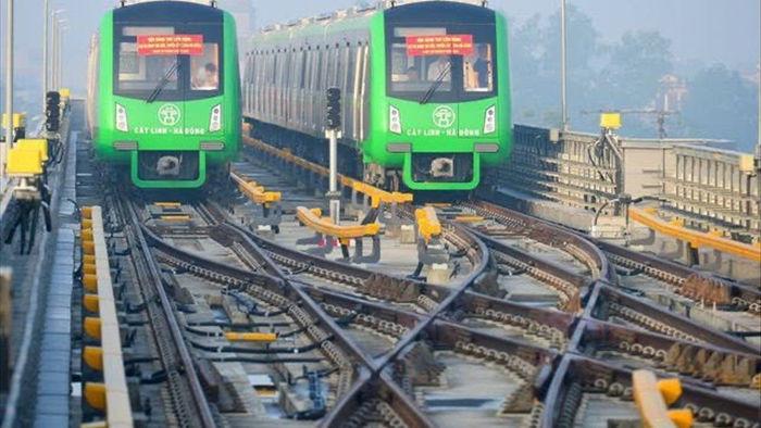 Bắt đầu vận hành thử toàn hệ thống đường sắt Cát Linh - Hà Đông từ 12/12 - 1