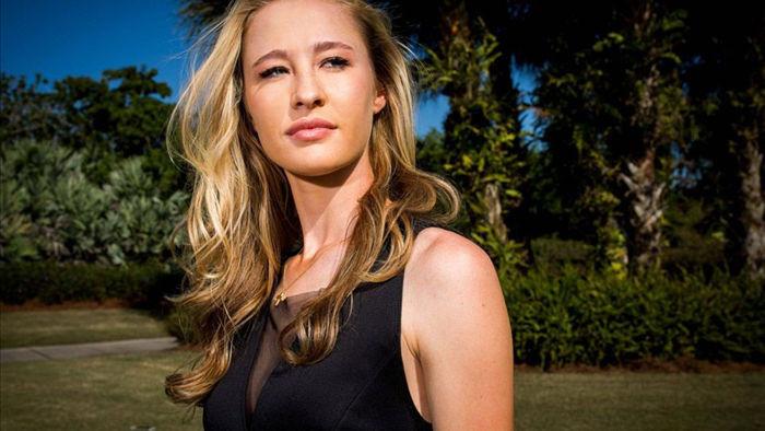 Vẻ đẹp mê hồn của nữ golf thủ ở giải US Womens Open - 8