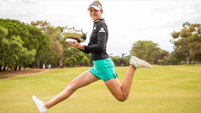 Vẻ đẹp mê hồn của nữ golf thủ ở giải US Womens Open - 12