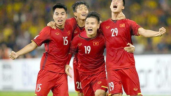 Đội tuyển Việt Nam bỏ xa Thái Lan trên bảng xếp hạng FIFA - 1