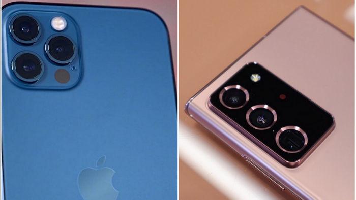 Đọ camera iPhone 12 Pro và Galaxy Note 20 Ultra: