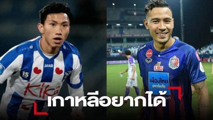 CĐV muốn đội vô địch Hàn Quốc chọn hậu vệ Thái Lan hơn Đoàn Văn Hậu - 1