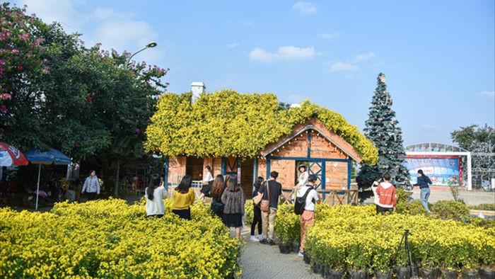 Chiêm ngưỡng ngôi nhà cúc chi đẹp mê mẩn ở Hà Nội - 10