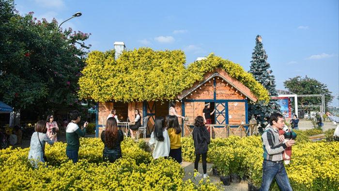 Chiêm ngưỡng ngôi nhà cúc chi đẹp mê mẩn ở Hà Nội - 3