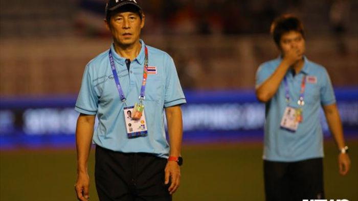 Liên đoàn bóng đá Thái Lan ra đề nghị sốc với HLV Nishino ở SEA Games 31 - 1