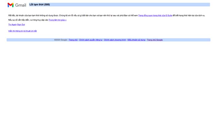 Nóng: YouTube và Gmail bất ngờ gặp lỗi đồng loạt - Ảnh 2.