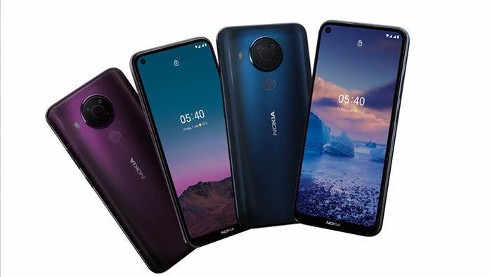 Nokia 5.4 ra mắt: Snapdragon 662, 4 camera sau 48MP, pin 4000mAh, giá từ 5.3 triệu đồng - Ảnh 1.