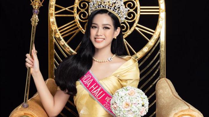 Nhan sắc Hoa hậu Đỗ Thị Hà và 2 Á hậu sau một tháng đăng quang - 8