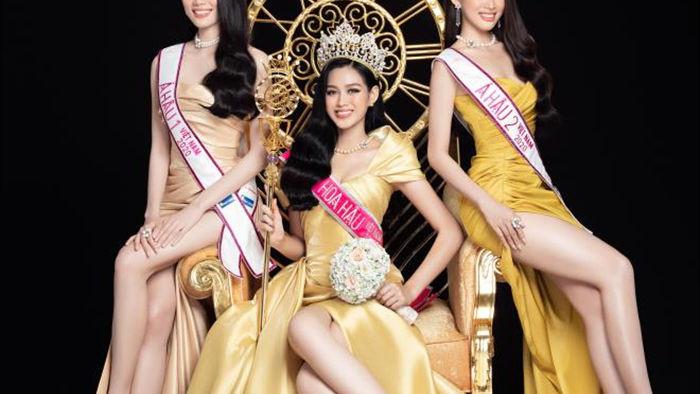Nhan sắc Hoa hậu Đỗ Thị Hà và 2 Á hậu sau một tháng đăng quang - 2
