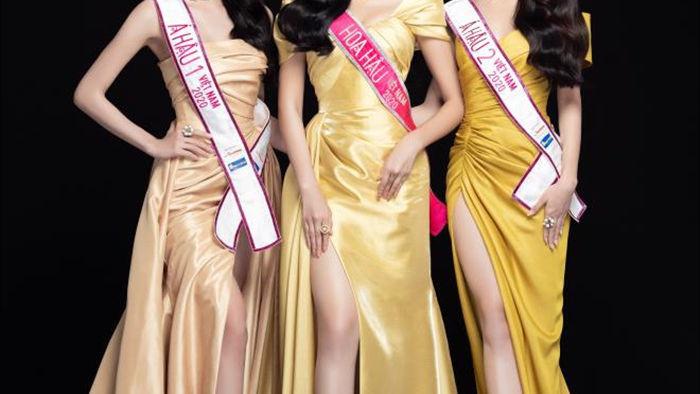 Nhan sắc Hoa hậu Đỗ Thị Hà và 2 Á hậu sau một tháng đăng quang - 4