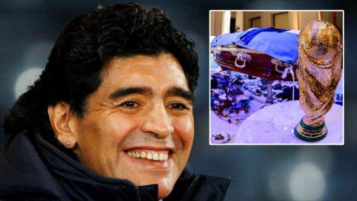 Tìm thấy di thư, gia đình muốn ướp xác Maradona  - 1