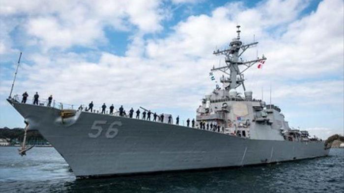 Mỹ liên tiếp điều tàu chiến đến Biển Đông