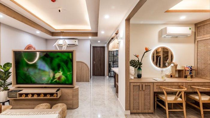 Căn hộ Sài Gòn đẹp như tranh, gia chủ sắm nội thất từ… mây, tre, cói - 4