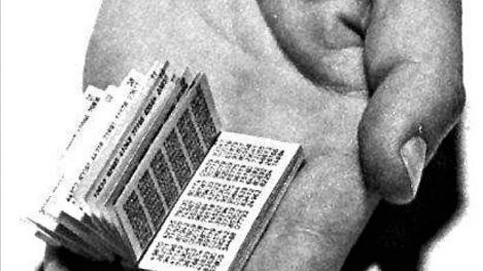 Mật mã Liên Xô bị giải đơn giản vì không thể in ấn được nhiều sách theo yêu cầu; Nguồn: gizmodo.com