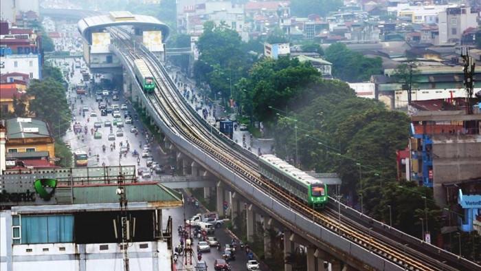 Dự án đường sắt đô thị Cát Linh – Hà Đông cũng là