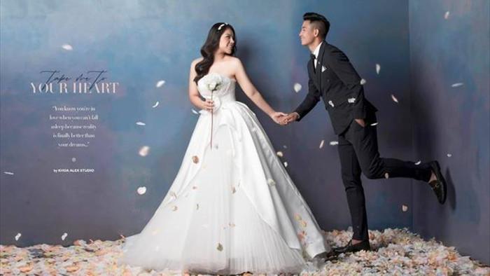 Hành trình từ yêu đến cưới của Bùi Tiến Dũng và vợ - 2