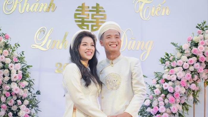 Hành trình từ yêu đến cưới của Bùi Tiến Dũng và vợ - 5