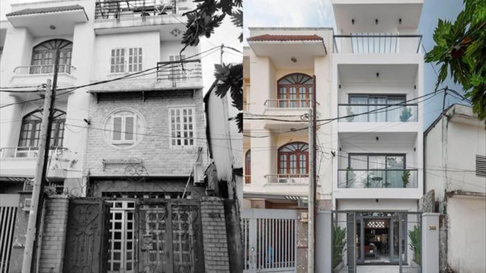 Màn lột xác ngoạn mục của nhà cũ 200m2 ở Sài Gòn khiến ai cũng trầm trồ - 1