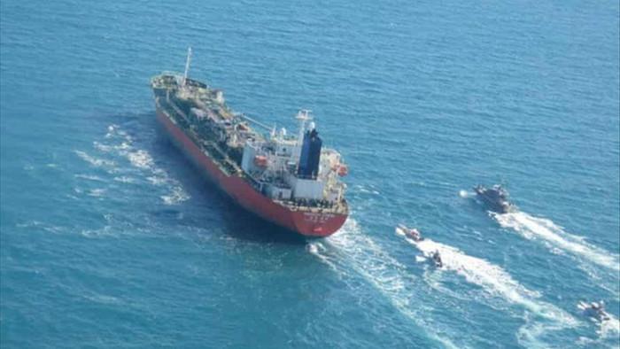 Iran bắt tàu hàng Hàn Quốc có thuyền viên Việt Nam - 1